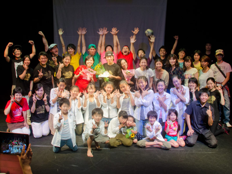 Falling star showcase vol.2「Grateful days」Group photo